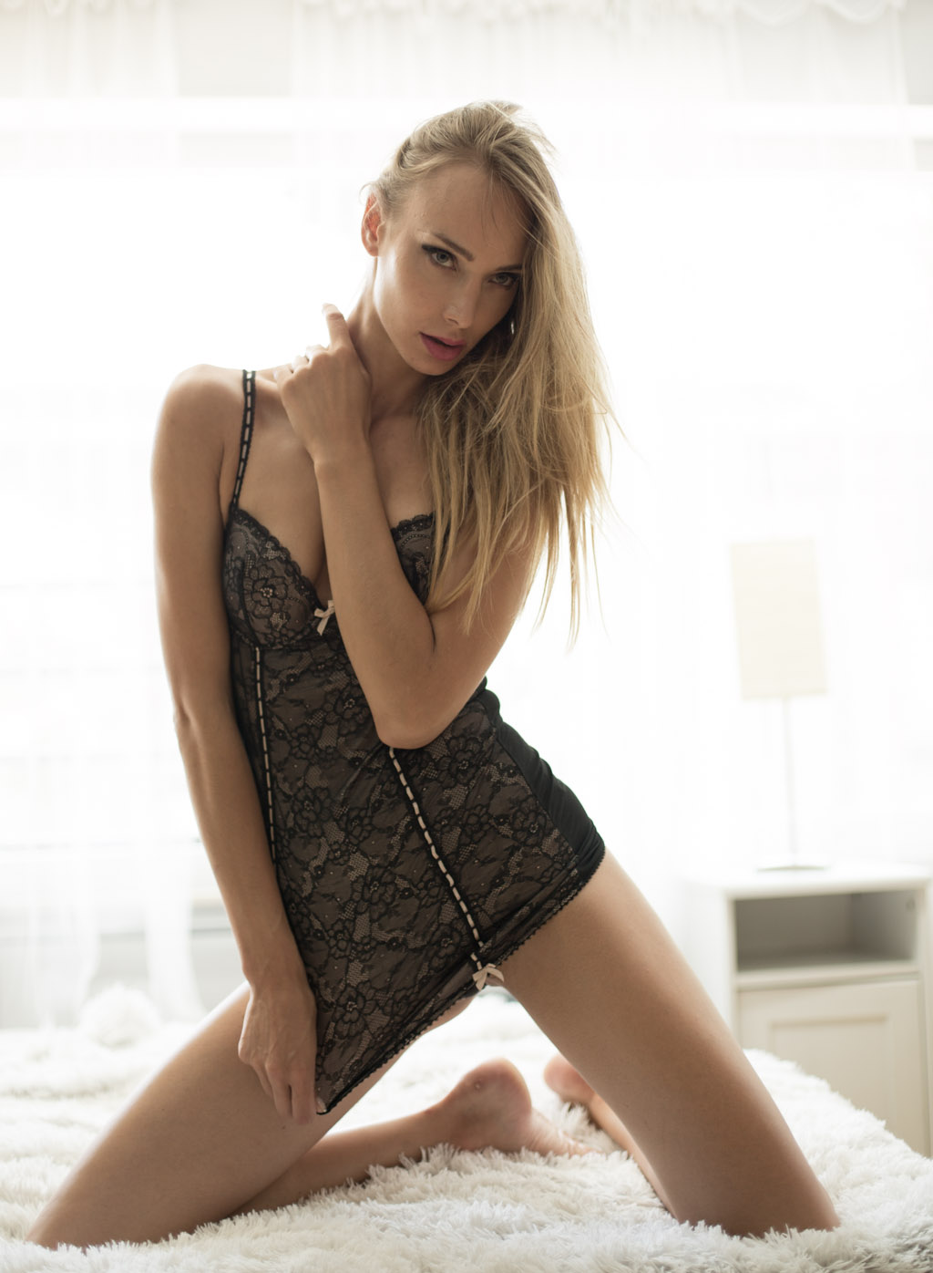 boudoir mujer